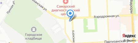 ВолгаСпецСтрой на карте Самары