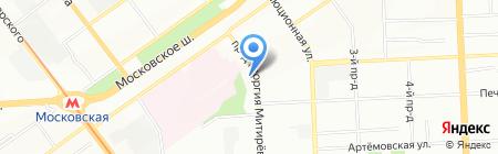 Автошик на карте Самары