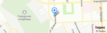 Автоспектр на карте Самары