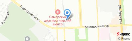 Бюро медико-социальной экспертизы на карте Самары