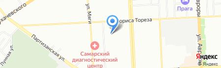 Ветеран на карте Самары