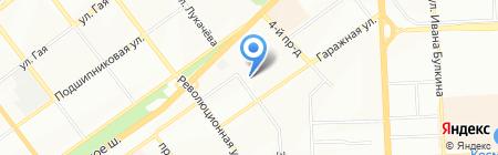 Евгения на карте Самары