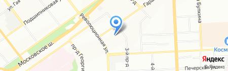 Ирида на карте Самары