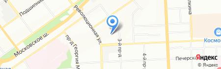 ТЛ-ТУР на карте Самары