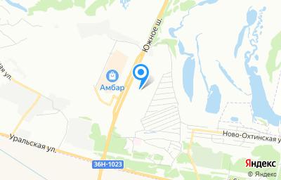Местоположение на карте пункта техосмотра по адресу г Самара, ш Южное, д 12А стр 4