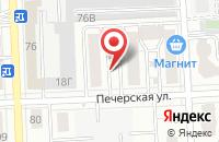 Схема проезда до компании Сити Девелопмент в Самаре