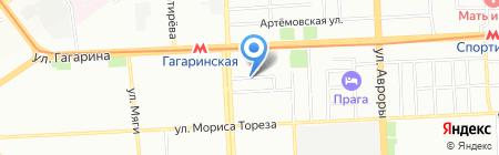 Технодорстрой на карте Самары