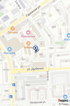 РИТЕЙЛ на карте Самары