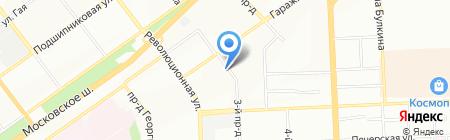 Субару Центр Самара на карте Самары