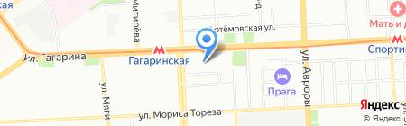 НЕОН ЛАЙН ПЛЮС на карте Самары