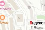 Схема проезда до компании ЭТМ в Самаре
