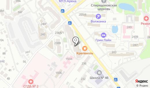 Магазин нижнего белья на ул. Советской Армии. Схема проезда в Самаре