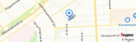Траверс на карте Самары