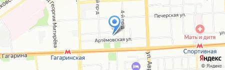 НЕФТЕГАЗСТРОЙПРОЕКТ на карте Самары