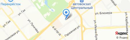 Анкас на карте Самары
