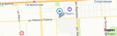 Таганка на карте Самары