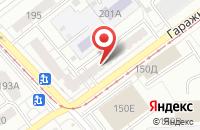 Схема проезда до компании Заволжье в Самаре