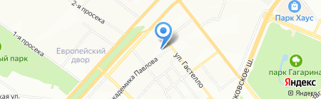 Детский сад №253 на карте Самары
