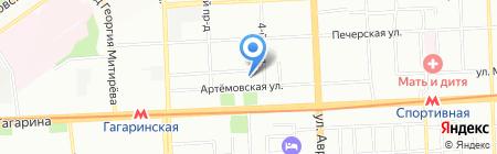 АвтоПлюс на карте Самары