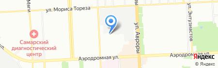 Аргус на карте Самары
