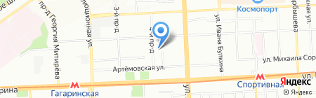 Детский сад №368 на карте Самары
