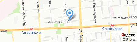 Агротехносервис на карте Самары