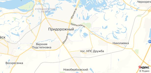 Николаевка на карте