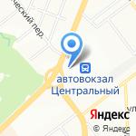Элвес на карте Самары