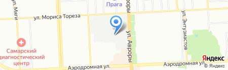 Нова на карте Самары