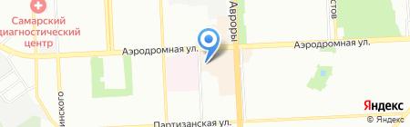 Янтарь на карте Самары