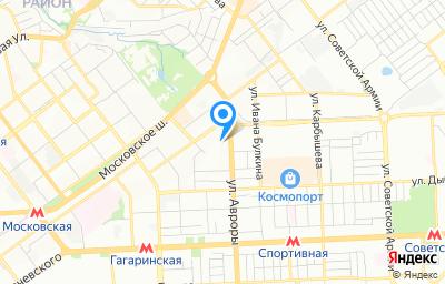 Местоположение на карте пункта техосмотра по адресу г Самара, ул Авроры, д 150, пом 1