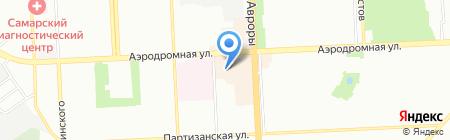 Старт Джи Эс Эм на карте Самары