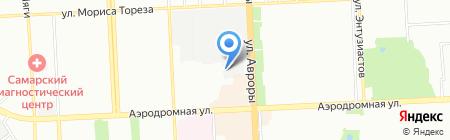 Офис-Волга на карте Самары