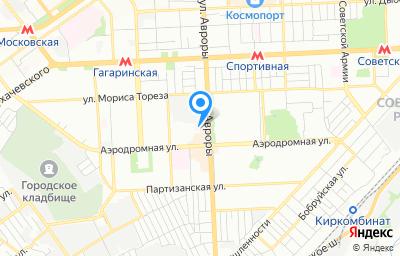 Местоположение на карте пункта техосмотра по адресу г Самара, ул Авроры, д 110