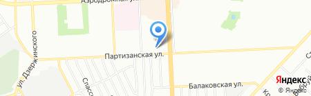 Учебно-технический центр НОУ на карте Самары