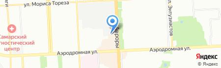Адмикс на карте Самары