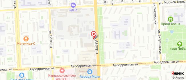 Карта расположения пункта доставки 220 вольт в городе Самара