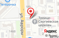 Схема проезда до компании Православная Народная газета в Самаре