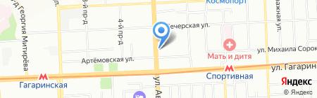 Алия Плюс на карте Самары