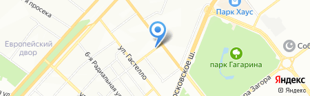Каламистра на карте Самары