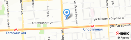 Вог Имидж Пулс на карте Самары