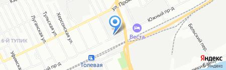 ОЭнТ-Самара на карте Самары