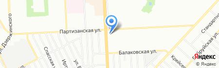 Амели на карте Самары