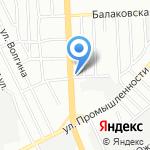 Магазин автозапчастей для иномарок на карте Самары