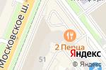 Схема проезда до компании КНИГА УСЛУГ в Самаре