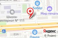 Схема проезда до компании Волга Полюс в Самаре