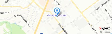 Промвент на карте Самары
