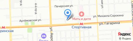 Алтон+ на карте Самары