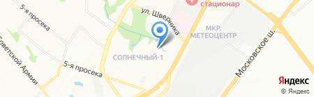 Будьте здоровы на карте Самары