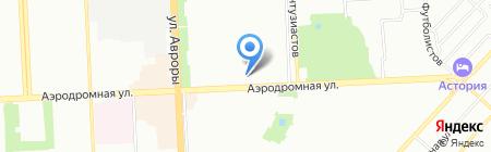 Дворец ветеранов на карте Самары